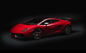 Картинка красный, Lamborghini, Gallardo, 2012, ламборгини, LP-570-4