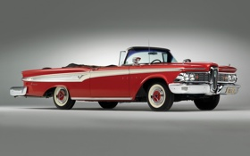 Обои edsel corsair convertible, автомобили, ретро