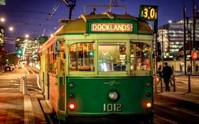 Обои Melbourne, Australia, tram, transports