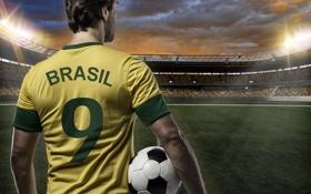 Обои Футбол, Brasil, FIFA