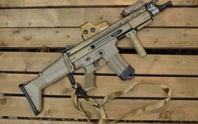 Обои оружие, автомат, Штурмовая винтовка, SCAR-L CQC, TokyoMarui
