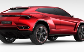 Картинка фон, внедорожник, супер, Lamborghini Urus Concept 2012
