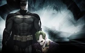 Картинка Джокер, Batman, Бетмен, Arkham, Asylum