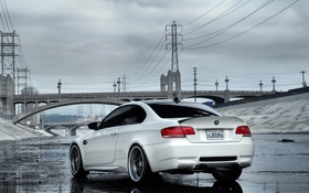 Обои BMW, e92, bridge