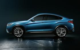 Обои Concept, BMW, БМВ, концепт, вид с боку