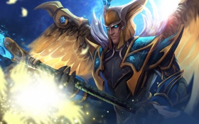 Картинка посох, Dota 2, Skywrath Mage, Dragonus