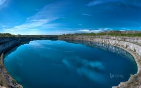 Обои небо, облака, природа, озеро, Canada, канада, онтарио