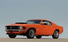 Обои Mustang, Ford, 429, BOSS