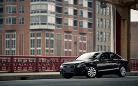 Обои машина, город, автомобиль, Audi A4 Premium Plus