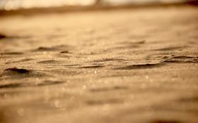 Картинка 2560x1600, bokeh, light, sand, боке, песок, macro