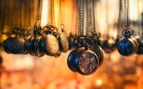 Обои макро, часы, лавка, магазин, антиквариат