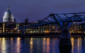 Обои London, England, Bankside