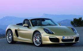 Картинка car, авто, машины, Porsche, sport, кабриолет, порше