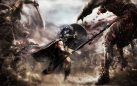 Обои Xbox 360, video game, PlayStation 3, Warriors Legend of Troy