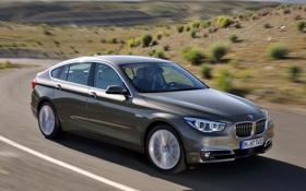 Картинка дорога, машина, скорость, BMW, road, speed, xDrive