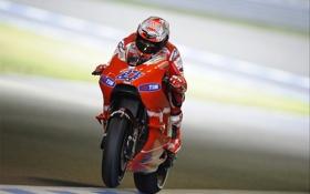 Картинка Фото, Скорость, Гонка, Мотоцикл, Ducati, MotoGP, Bike