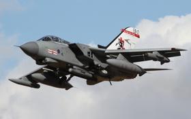Обои кабина, самолёт, реактивный, истребитель-бомбардировщик, Panavia Tornado