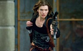 Обои актриса, Resident Evil, мила йовович