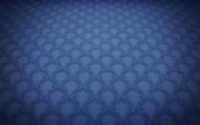 Обои синий, узоры, текстура, цвет, обои, картинка, арт