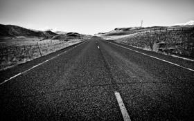 Обои дорога, небо, природа, road, sky, nature, 2560x1600