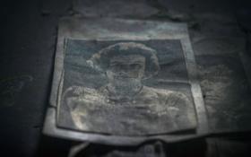 Обои ретро, фото, портрет, пыль