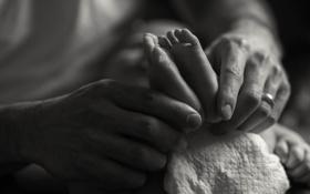 Картинка любовь, руки, ножки, ребёнок