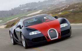 Картинка тачка, красивая, bugatti veyron, бугатти вэйрон