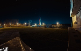 Обои парк, ракета, музей, park, rocket, Владимир Смит, Vladimir Smith