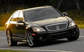 Обои cars, mercedes, auto walls, s550