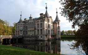 Обои Belgium, POEKE CASTLE, East Flanders, Aalter