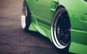Картинка nissan, колеса, wheels, ниссан, 240sx
