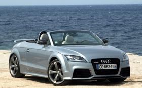 Обои Audi, ауди, фары, Roadster, родстер, передок, Audi TT