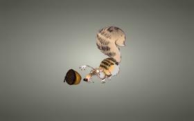 Картинка белка, Ice Age, Ледниковый период, Жёлудь, крысобел, glans, Скрат