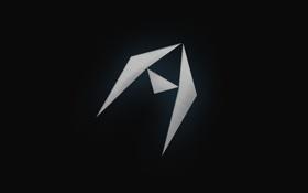 Обои треугольники, Фон, символ