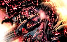 Картинка superman, супермен, dc comics, darkseid, дарксайд