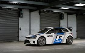 Обои cars, auto, WRC, обои авто, race cars, Volkswagen Polo, Rally car
