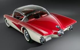 Обои Concept, РАРИТЕТ, Centurion, ЦВЕТ, Buick, КРАСНЫЙ, 1956