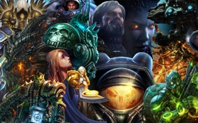 Картинка World of Warcraft, Starcraft, персонажи, Diablo, Blizzard games