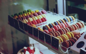 Обои печенье, разное, много, цветное