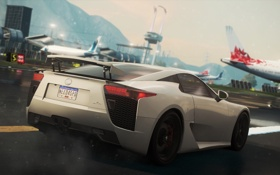 Картинка игра, гонки, 2012, Lexus LFA, Need for speed, Most wanted