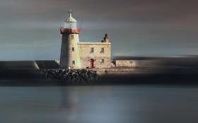 Картинка маяк, Ireland, Dublin, Howth
