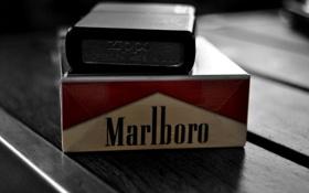 Картинка зажигалка, zippo, сигареты, marlboro, мальборо