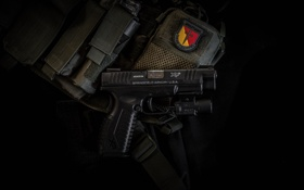 Картинка пистолет, оружие, XDM, Springfield Armory, полуавтоматический