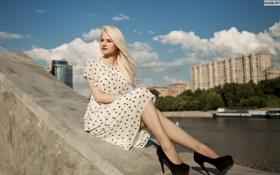 Картинка девушка, платье, фотограф, girl, photography, photographer, Alex Bazilev