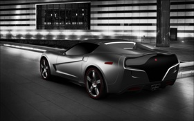 Обои рендеринг, Corvette, Chevrolet, тачки, шевроле, cars, auto wallpapers