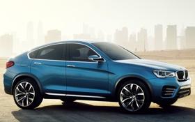 Обои машина, вид сбоку, BMW, Concept