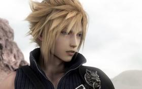 Картинка аниме, парень, Final Fantasy 7, ff7, Claud, Strife, Страйф