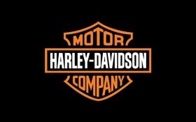 Обои надпись, мотоциклы, эмблема, Harley-Davidson, Харлей-Дэвидсон, Motor Company