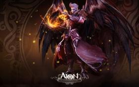 Картинка книга, AION, волшебник