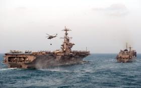 Обои оружие, авианосец, флот